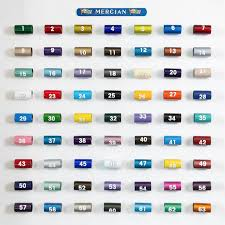 Vauxhall Colour Chart Colours Mercian