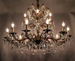 image of popular vintage crystal chandelier