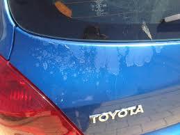 2008 Toyota Yaris Clear Coat And Paint Peeling: 20 Complaints