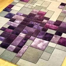 round purple rug pink and purple rug pixel a luxury wool viscose handmade in grey intended