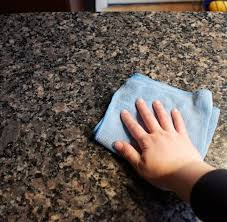 how to clean and disinfect granite countertops cleaning