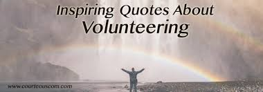 Quotes About Volunteering