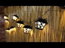 Solar lantern string lights Modern Youtube Warm White Solar Lantern Party String Lights Fl2295 Youtube