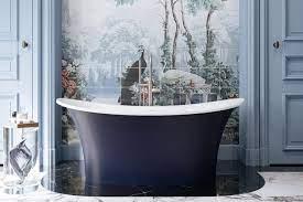 blue bathroom colours