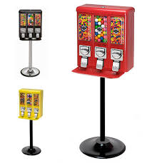 Candy Machine Vending Classy LYPC Triple Shop Gumball Bulk Candy Vending Machine