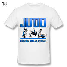 Judo Shirt Designs Popular Boy Judo Female Practice Makes Perfect T Shirt O