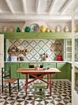 Кафель в интерьере кухни фото