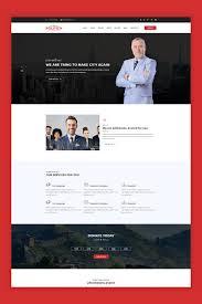 Political Website Templates The Politicn Political Website Template
