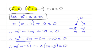 solving quadratic equations using substitution method ex 2 9