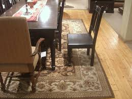 Under Dining Table Rugs Kitchen Table Rug Size Best Kitchen Ideas 2017