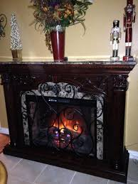 astoria 33 infrared electric fireplace mantel in empire cherry 33wm0194 c232