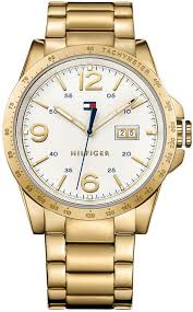 tommy hilfiger 1791256 casual sport gold tone mens watch men s tommy hilfiger casual sport gold tone watch 1791256