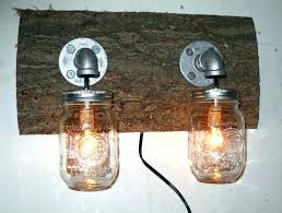 mason jar bathroom light fixtures mason jar bathroom light mason jar vanity light handmade rustic 2 fixture country primitive mason jar