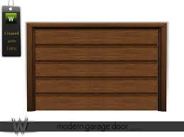 modern garage doorwondymoons Modern Garage Door v2