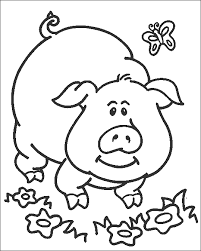 Small Picture Simple Coloring Pages For Toddlers Coloring Pages