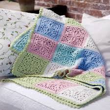 Free Crochet Blanket Patterns Best Refreshing Pastel Crochet Throw Free Crochet Blanket Patterns
