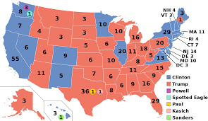 2016 Presidential Election Results Chart 2016 United States Presidential Election Wikipedia