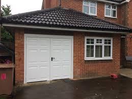 garador side hinged garage doors fitted wokingham spring 2017