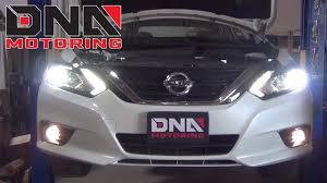 2017 Nissan Altima Led Fog Lights How To Install 16 18 Nissan Altima Fog Light