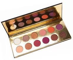 coloured raine queen of hearts eyeshadow palette must have eyeshadow palettes makeup tutorials