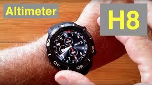 MICROWEAR <b>H8 4G</b> Android 7.1.1 IP68 Waterproof Altimeter ...