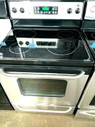 electric range top. Flat Top Stove Best Pans For Glass Cookware Stoves Electric Range