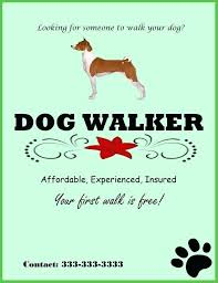 Dog Flyer Template Free Dog Flyer Template Starwalker Me