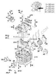 Zylinderkopf 350 620 lc4 u002794 ktm 350 e xc 20kw sup 1994 eu