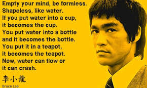 Bruce Lee Water Quote Inspiration Bruce Lee Heidegger The Thing The Two Cities