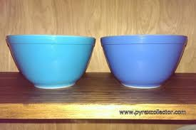 Pyrex Color Chart Colors The Pyrex Collector Information For The Vintage