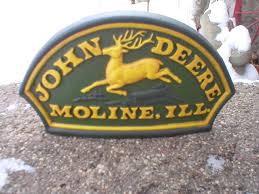 John Deere Coat Rack Antiques Art Vintage 57