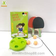 Đồ chơi bóng bàn luyện phản xạ, đồ chơi giải trí trong nhà rèn luyện phản  xạ cho bé