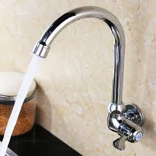 Sale Cold Water Wall Mounted Kitchen Sink Faucet