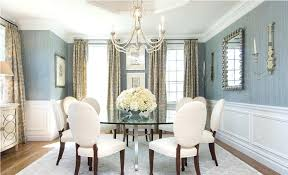 how high to hang chandelier over dining room table designs