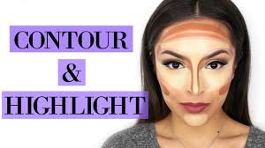 how to highlight and contour your face for beginners trinaduhra