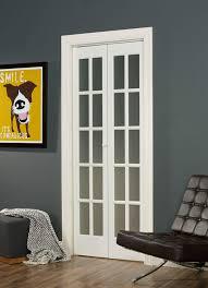 classic french opaque glass bifold door