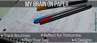 Day Tracker Planner Simple Routine Tracker And Day Planner Blessedly Busy