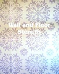 wall design stencils free paint pattern indian india