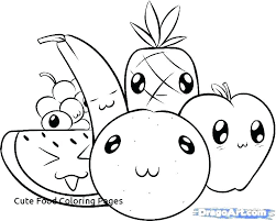 Coloring Pages Of Food Coloring Pages Of Food Healthy Coloring Pages