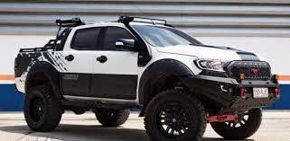 ford ranger. dealer-customized ford ranger - image via motoring