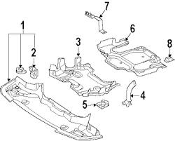 Rear shield clip