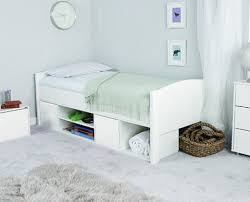 uno s cabin bed with white headboard and white doors view 1