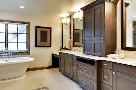 decoration built in bath cabinets awesome bathroom storage with images of regard to 5 from