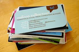 What To Put On A Blog Business Card Blog Clarity