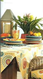 outdoor vinyl tablecloth tablecloths outdoor tablecloths round