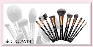 crown brush. crown pro rose gold collection brush t
