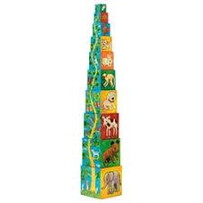 пирамида djeco мишка