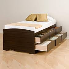 twin platform bed with drawers. Bed, Storage Platform 6 Drawers, Bedroom Twin Bed With Drawers N