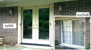outstanding how to remove a sliding glass door replace sliding glass door with french door door outstanding how to remove a sliding glass door