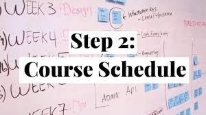 create college class schedule college course schedule scaffolding examples erika romero